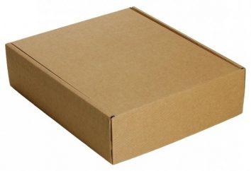 Jak zrobić pudełko z kartonu własnymi rękami najbardziej proste?