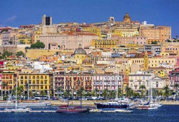 Sardaigne, Cagliari hôtels, attractions et photos