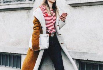 Conseils de mode: quoi porter avec un manteau en peau de mouton?