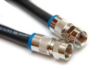 cables de red para el ordenador: tipo y la conexión