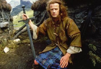 """Epico """"Highlander"""": un attore che ha giocato Connor MacLeod e la sua biografia. Elenco dei film di franchising"""