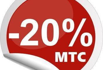 """""""20 procent powraca"""", MTS. Warunki, recenzje. Jak połączyć """"20-procentowy zwrot"""" z MTS?"""