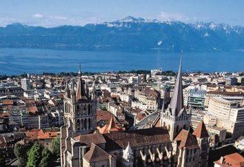 Lozanna (Szwajcaria): zabytki i ciekawe miejsca