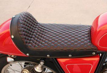Qu'est-ce que halage un siège de moto
