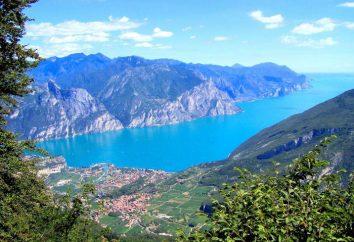 Jezioro Garda, Włochy. Jezioro Garda na mapie Włoch