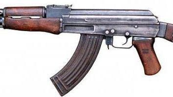 TTX AK-47 (Kałasznikow) celem, wielkość