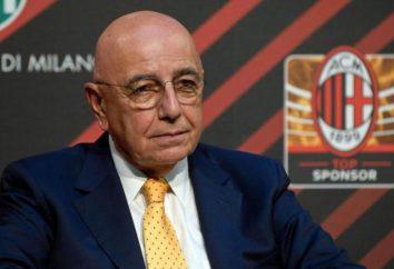 """Wiceprezes """"Milan"""" Adriano Galliani"""