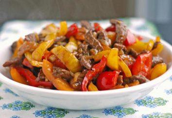 Come si può cucinare la carne con peperoni