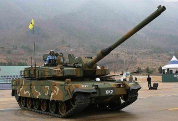"""Tank """"Black Panther"""". Corea del Sud prospettiva principale carro armato della nuova generazione"""