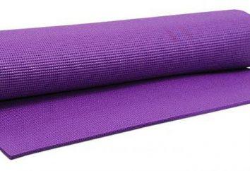 colchonetas de yoga: ¿cómo elegir, características, tipos y clasificaciones