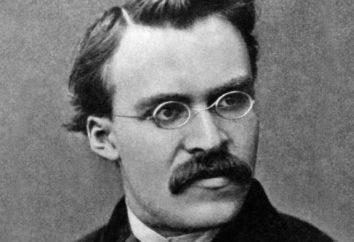 Biographie de Nietzsche Frederick. Des faits intéressants, des travaux, des citations