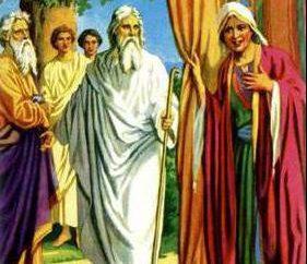 Syn Izaaka i Rebeki. Bracia bliźniacy Ezaw i Jakub