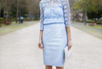 Kombinacja kolorów z niebieskie ubrania