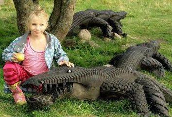 artisanat incroyable de pneus