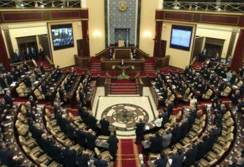 Il Parlamento del Kazakistan: la struttura, l'ordine di nomina dei deputati
