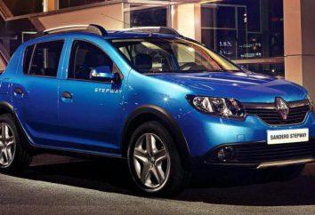 """Przegląd """"Renault Sandero Stepvey 2"""": specyfikacje techniczne"""