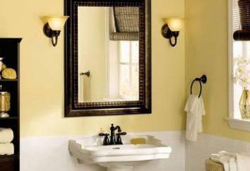 Como reparar em um pequeno banheiro