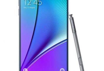 Smartphone Samsung Galaxy Note 5: opis, dane techniczne, opinie