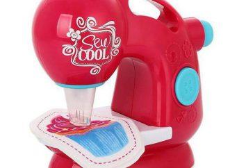 Ciekawym i bezpieczne dla dzieci, maszyna do szycia Sew Cool – wielki dar dla dziewczynek