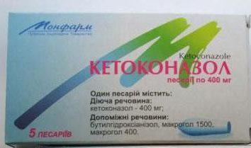 """Świece """"ketokonazolu"""": instrukcje użytkowania, prawdziwe"""