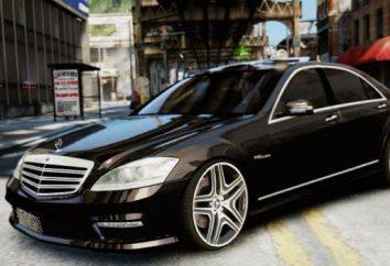 """""""Mercedes 221"""" – une voiture allemande pour les vrais connaisseurs de qualité et de beauté"""