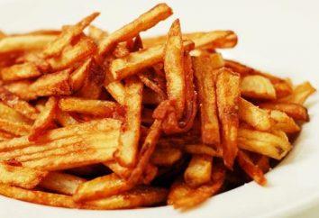 pommes de terre frites, très savoureux dans multivarka