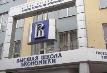 Absolwent Szkoły Głównej Handlowej w Moskwie