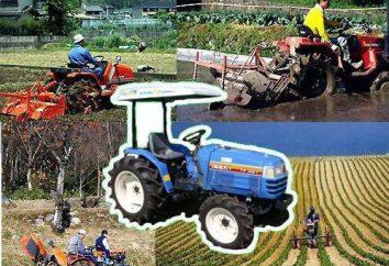 Míni tractores: tecnologia japonesa em nosso ambiente