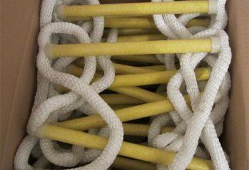 Échelle de corde et ses types