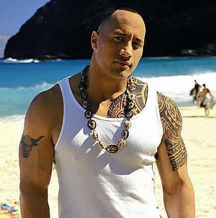 Dzhonson Dueyn Tatuaż Na Ciele Mają święty Sens