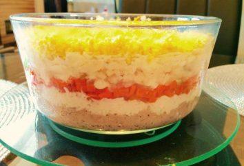 Sałatka z sardynek w puszkach: recepty
