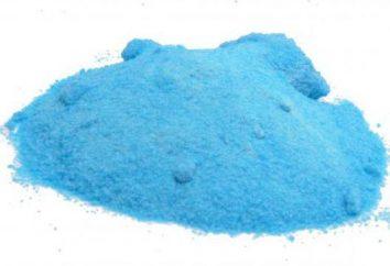 Le sulfate de cuivre: l'utilisation de l'anti-fongique en horticulture et dans la vie quotidienne