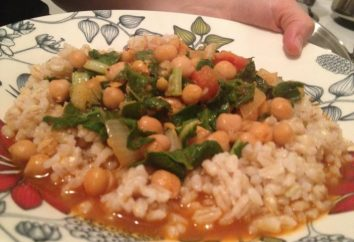 ricetta tunisina: zuppa di ceci e hummus