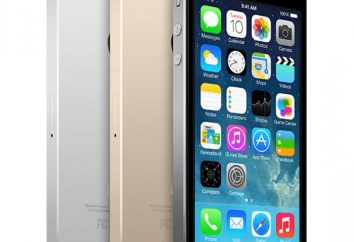 Instrucciones para el iPhone 5S: configuración, activación y el primer lanzamiento