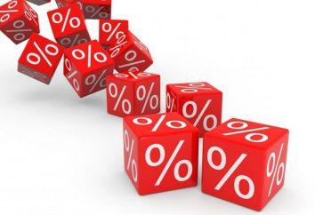Classification des taux d'imposition. Types de taux d'imposition