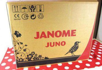 Macchina da cucire Janome Juno 513: descrizione, manuale di istruzioni