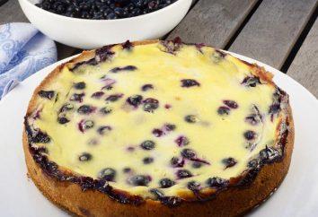 tarte aux bleuets dans multivarka: recette