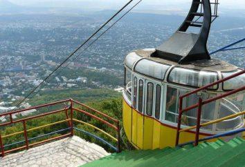 O teleférico, Pyatigorsk: descrição, pontos turísticos, modo de operação e fatos interessantes
