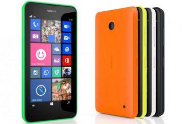 Nokia Lumia 630 – photos, prix et commentaires
