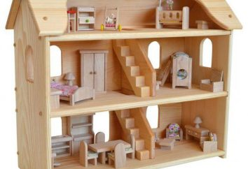 casa de muñecas de madera: es mejor comprar o hacer sus propias manos?