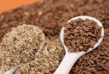 Mąka z siemienia lnianego. Mąka z nasion lnu dieta