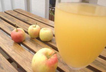 Wie Apple Kwas zu Hause machen: Rezepte, vor allem das Kochen