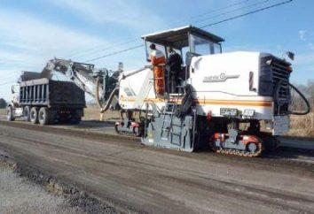 Głównym sprzęt budowy robót drogowych – Strugarka