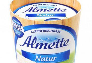 """""""Almette"""" (twaróg): struktura i opinie"""