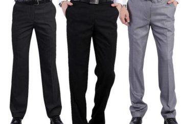 Tipos de calças masculinas e suas características