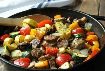 Jak najlepiej gotować mięso z warzywami na patelni