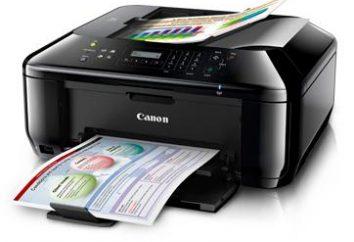 O programa para impressão de documentos e fotos