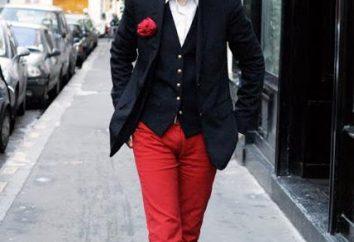 pantalones de hombre estrechadas están de vuelta en la moda