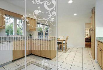 divisori in vetro dell'appartamento: tipi, finalità, vantaggi e svantaggi