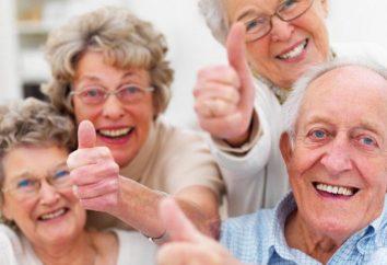 Scena na dzień osoby starszej. Stary szkic śmiesznych dni